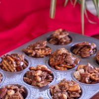 Super Simple and Sweet Nutella No Bake Chex Mix Bites in Under 30 Minutes