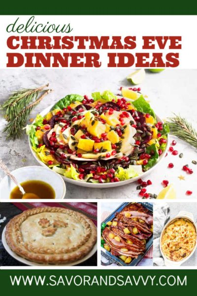 Fun Christmas Eve Dinner Ideas for the Night Before Christmas. Enjoy these creative appetizers and main courses and spend time with your family #dinner #ChristmasEve #Holiday #Christmas