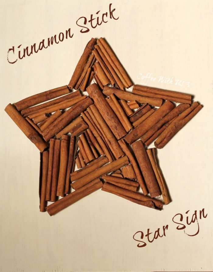 Fragrant and Festive Holiday Cinnamon Stick Star