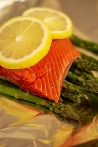 Oven Baked Salmon in Foil Recipe
