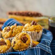 Basket of muffins