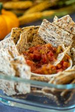 Multigrain Crackers are perfect for dipping