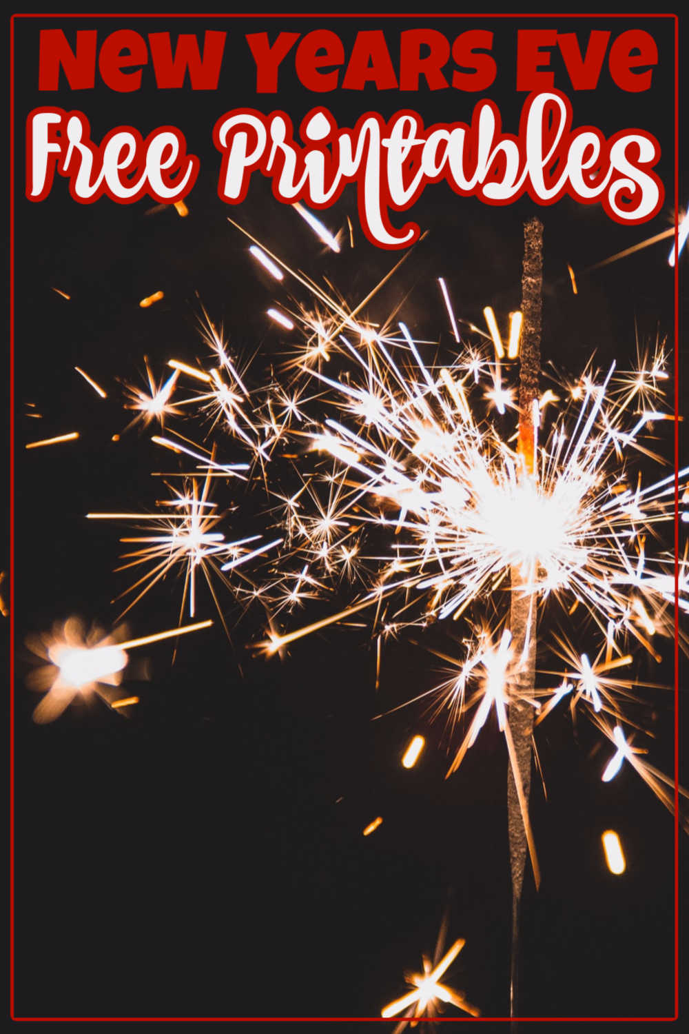 Easy Steps to Celebrate! Free New Years Printables and Worksheets