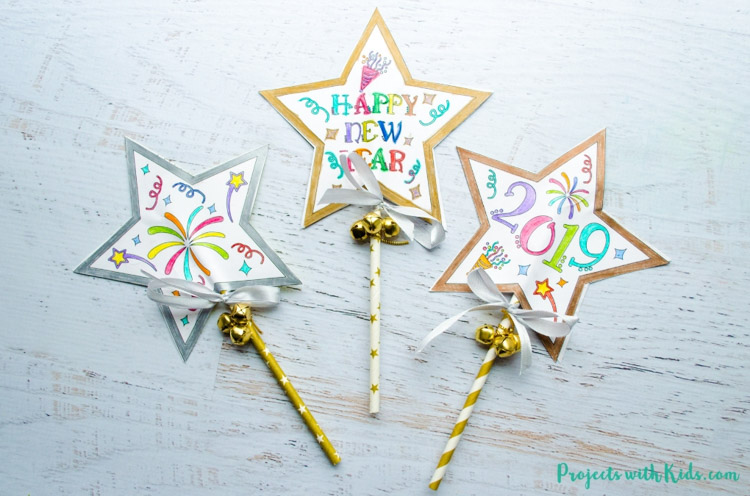 Magic Wand project to make with kids
