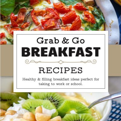 Secrets to Fix Morning Stress! Grab and Go Breakfast Ebook with 15 Brand New Recipes