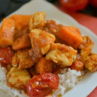 Chicken, Tomato and Sweet Potato Curry Recipe