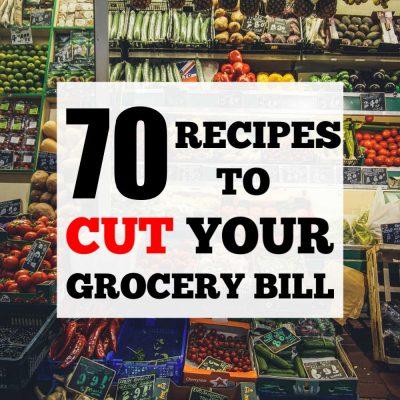 10 Weeks of Recipes-Frugal Weekly Meal Plans