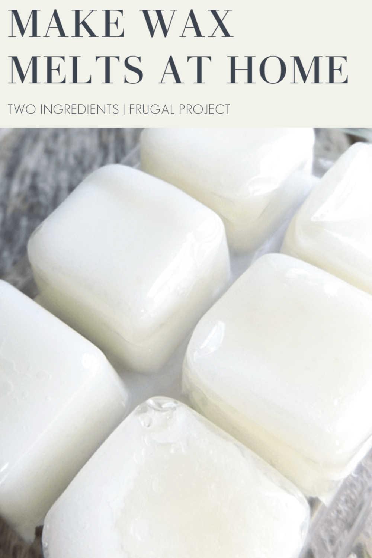 Frugal Experiment Homemade Wax Melt Alternative