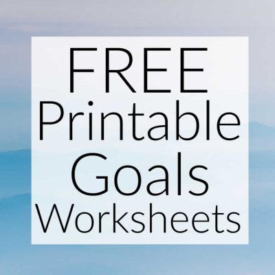 Crush Financial Goals This Year w/ Free Printable Goal Worksheets – Plan Now For Success