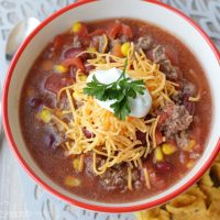 10 Minute Taco Soup – And Freeze the leftovers!!!!
