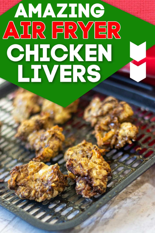 Air Fryer Chicken Livers - 10 Minute Appetizer {WW 6 Purple, 7 Green, 6 Blue}