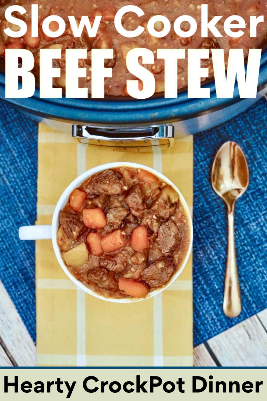 Slow Cooker Beef Stew {Freezer Meal/Ninja Foodi/Instant Pot Options}