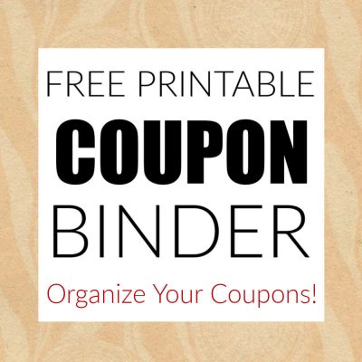How to Organize a Coupon Binder with Free Printable Pages