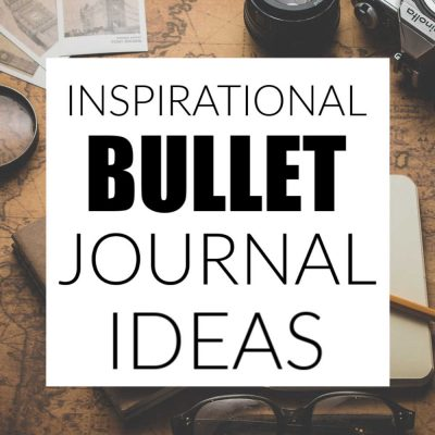 Bullet Journal Ideas for the New Year
