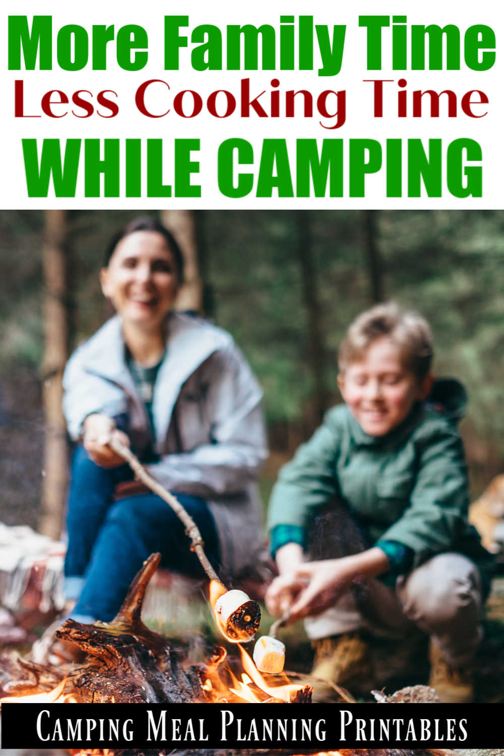 Camping Checklist Printable - Never Forget Anything At Home!