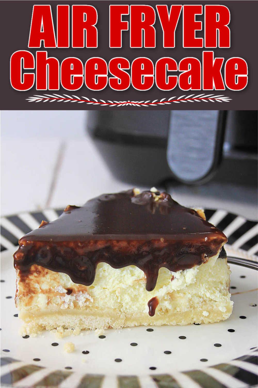 Air Fryer Twix Cheesecake