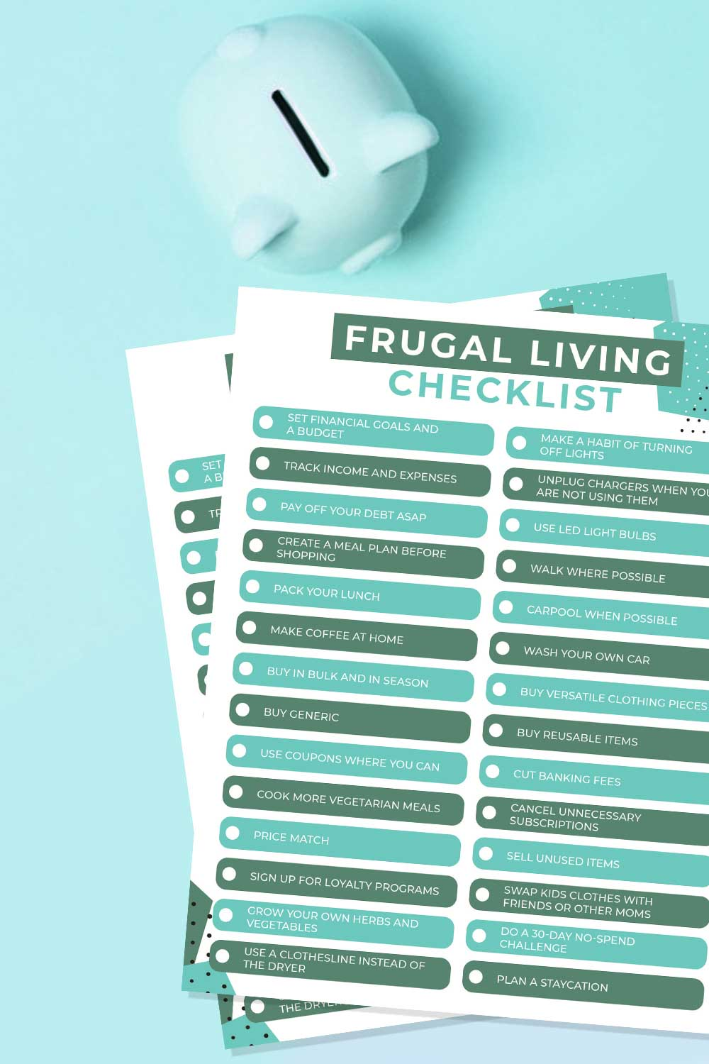 28 Shocking Ways Frugal People Save Money {Free Printable}