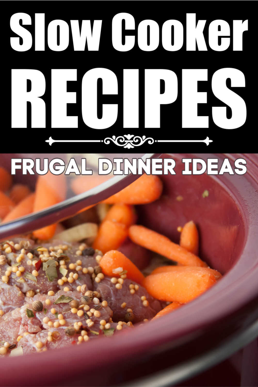 Easy Frugal Crockpot Recipes to Make For Dinner Tonight