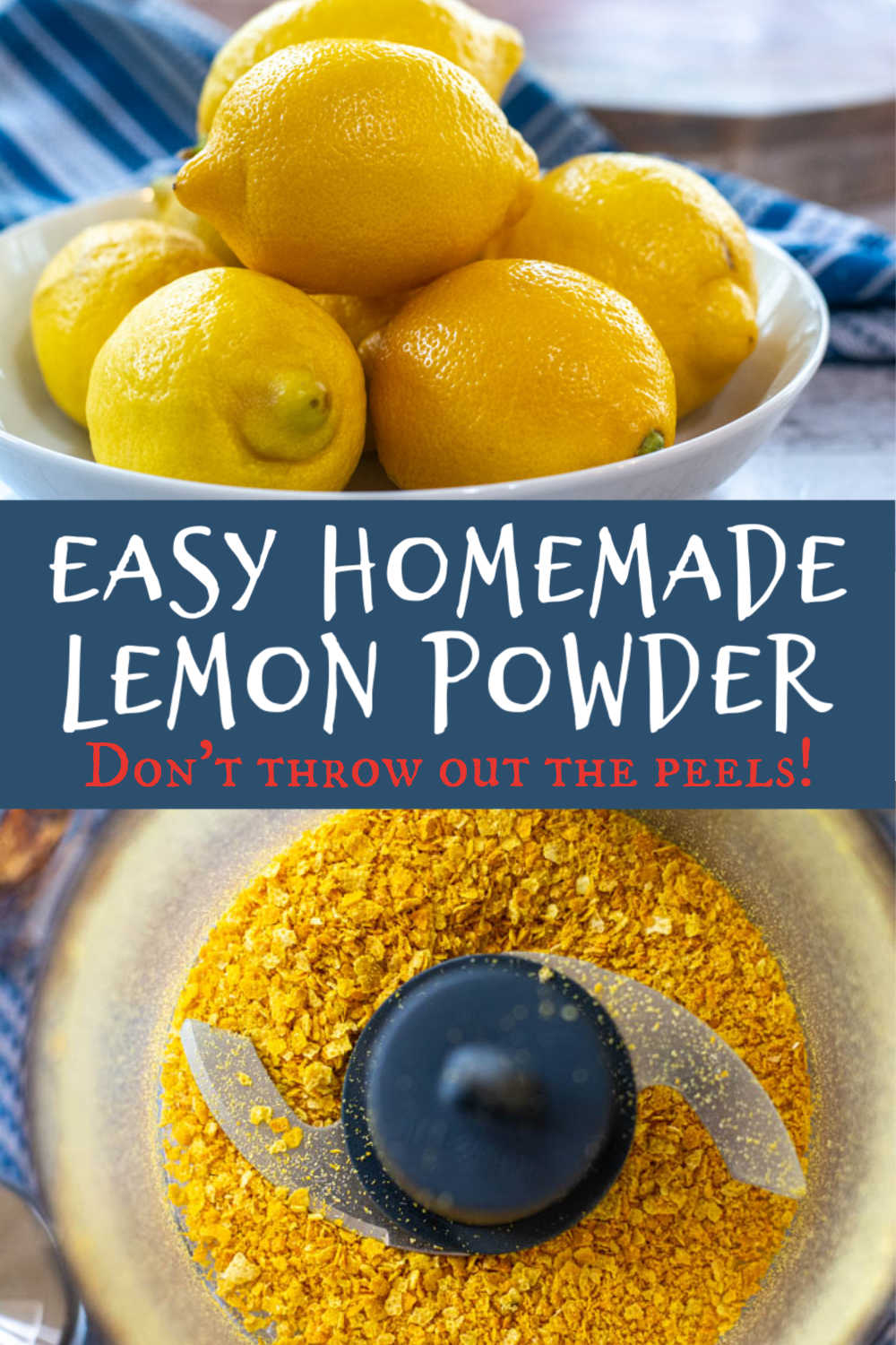 How to Make and Use Dried Lemon Peels