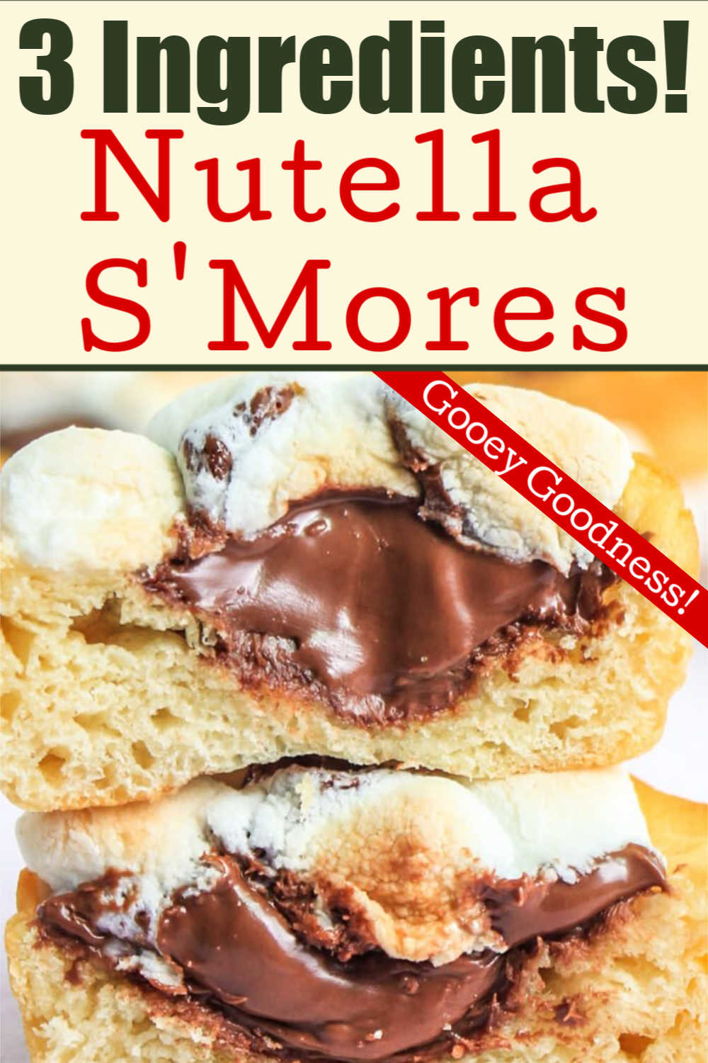 Nutella S'mores Cups {WW 8 points, Vegetarian}