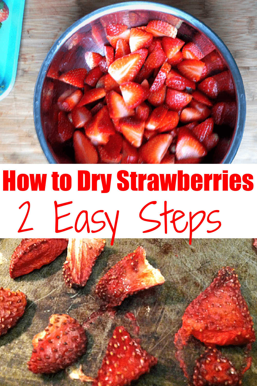 How to Make Oven-Dried Strawberries
