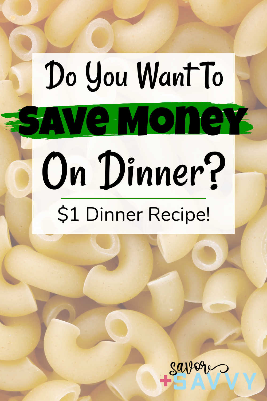$1.15 Turkey Pasta Dinner for 2 {Instant Pot, Ninja Foodie Options}