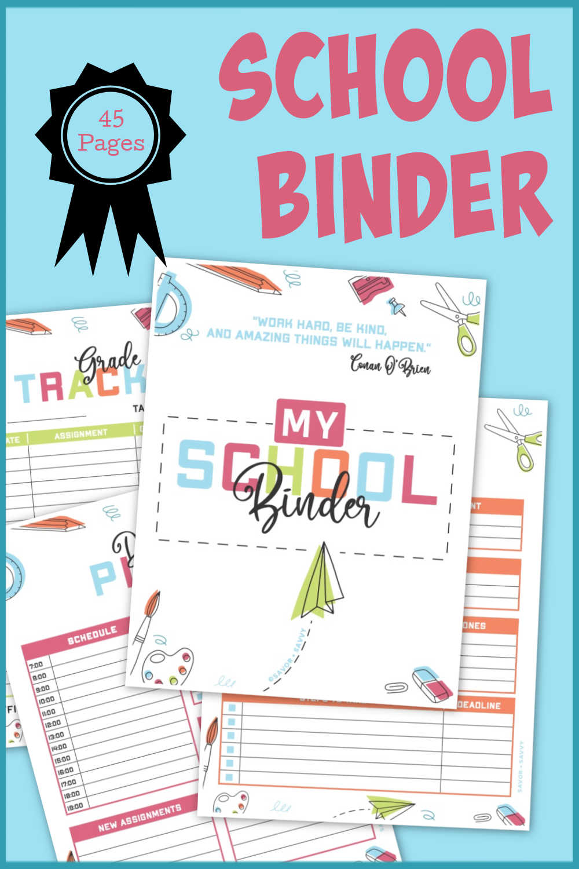 School Binder - Back to School Organization