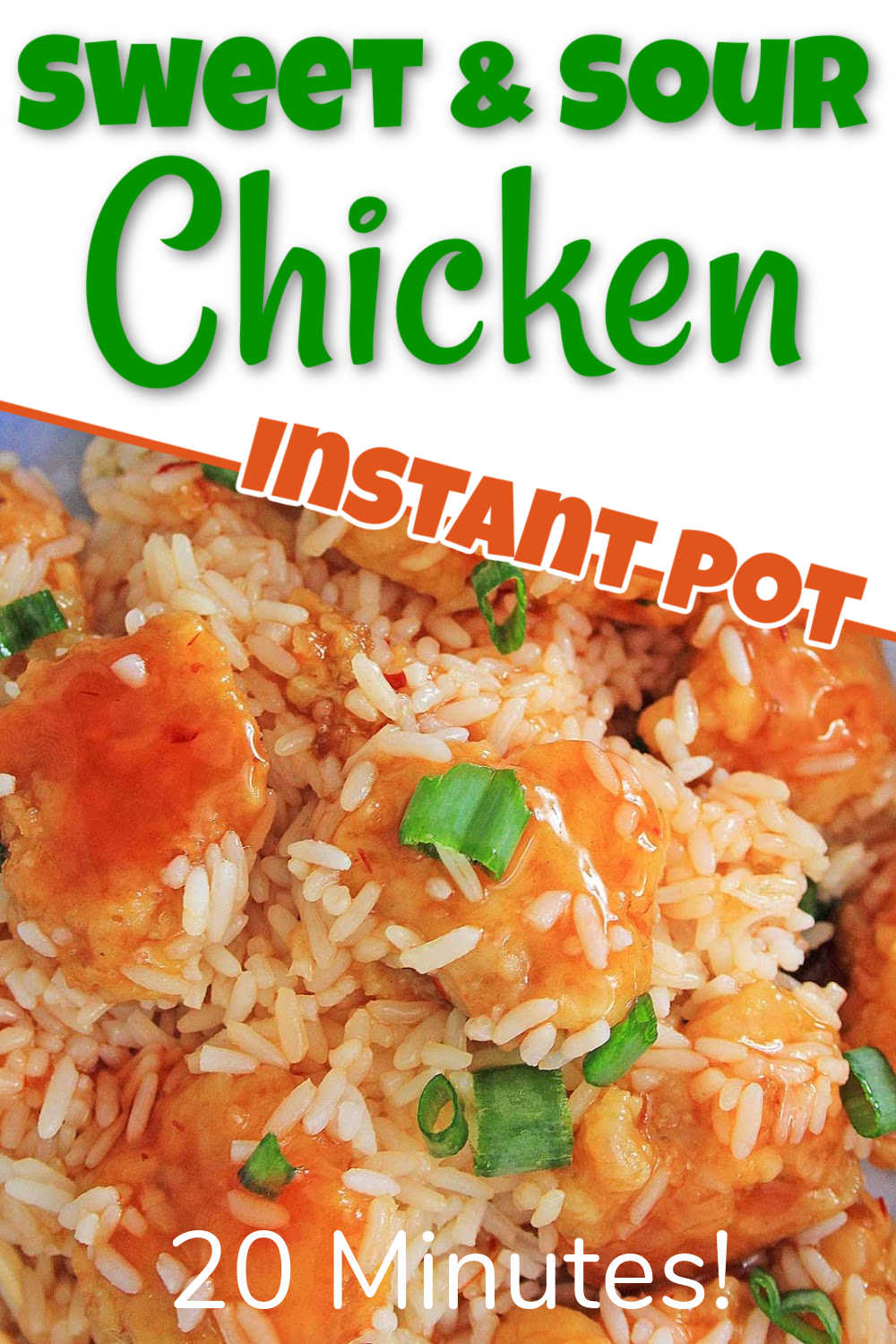 Instant Pot Sweet and Sour Chicken {30 Minutes}
