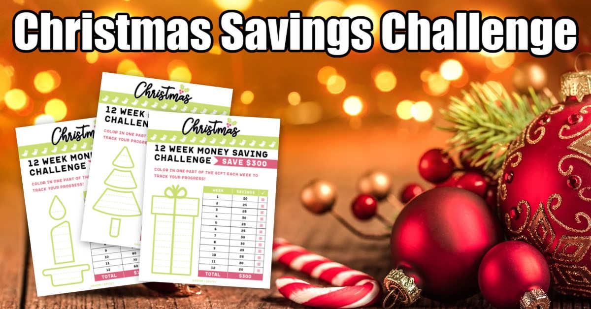 holiday decor with Christmas Savings Printables