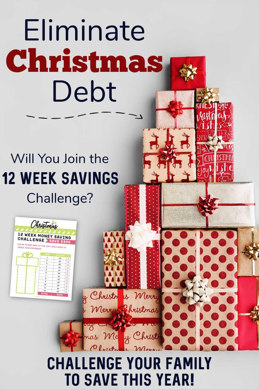12 Weeks Christmas Savings Challenge