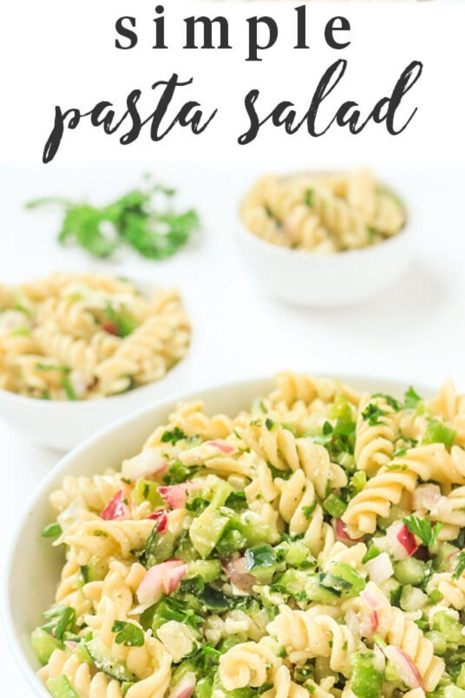 Easy Pasta Salad Recipe {30 Minutes}