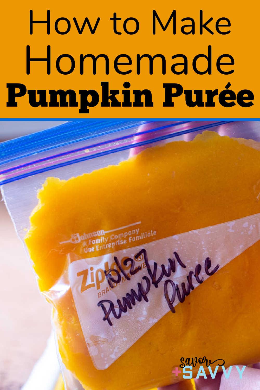 How to Make Pumpkin Purée {Instant Pot + Slow Cooker + Steam}