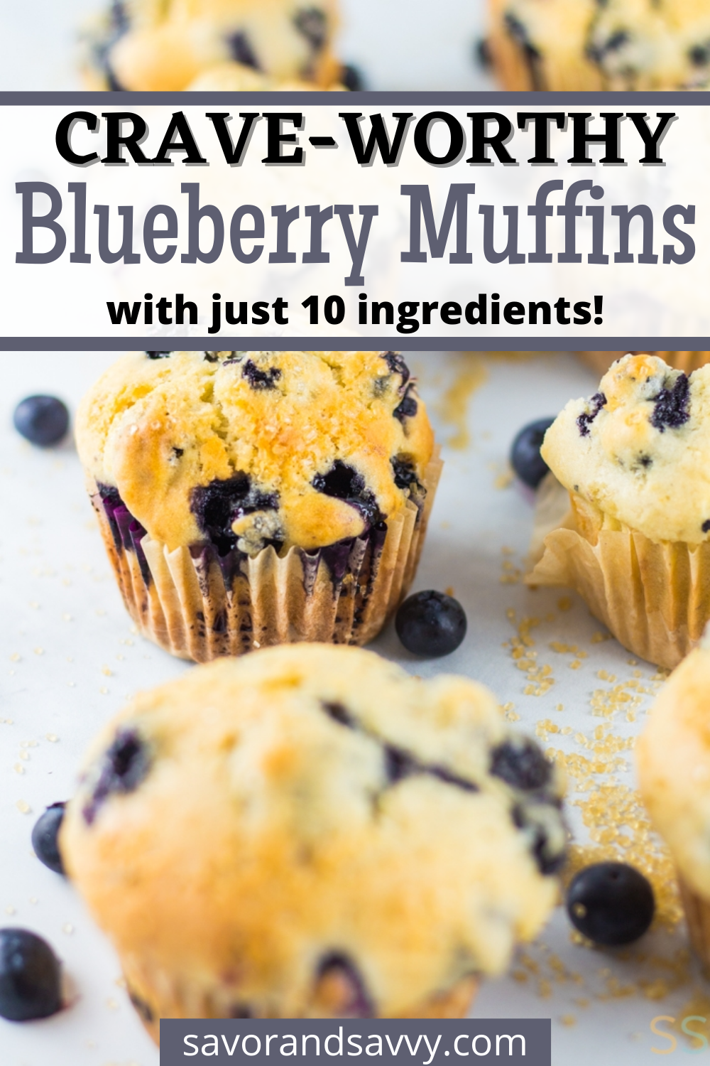 Blueberry Muffins Recipe {30 Minutes}