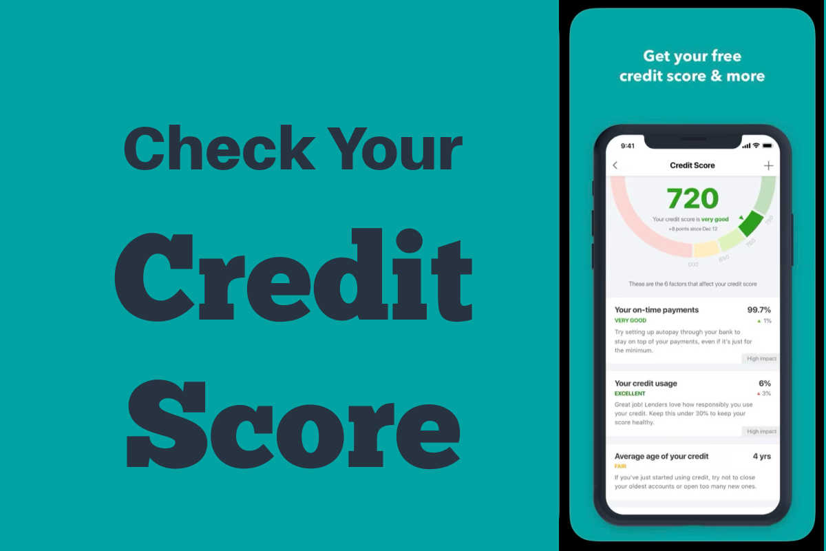 screenshot of your credit score.