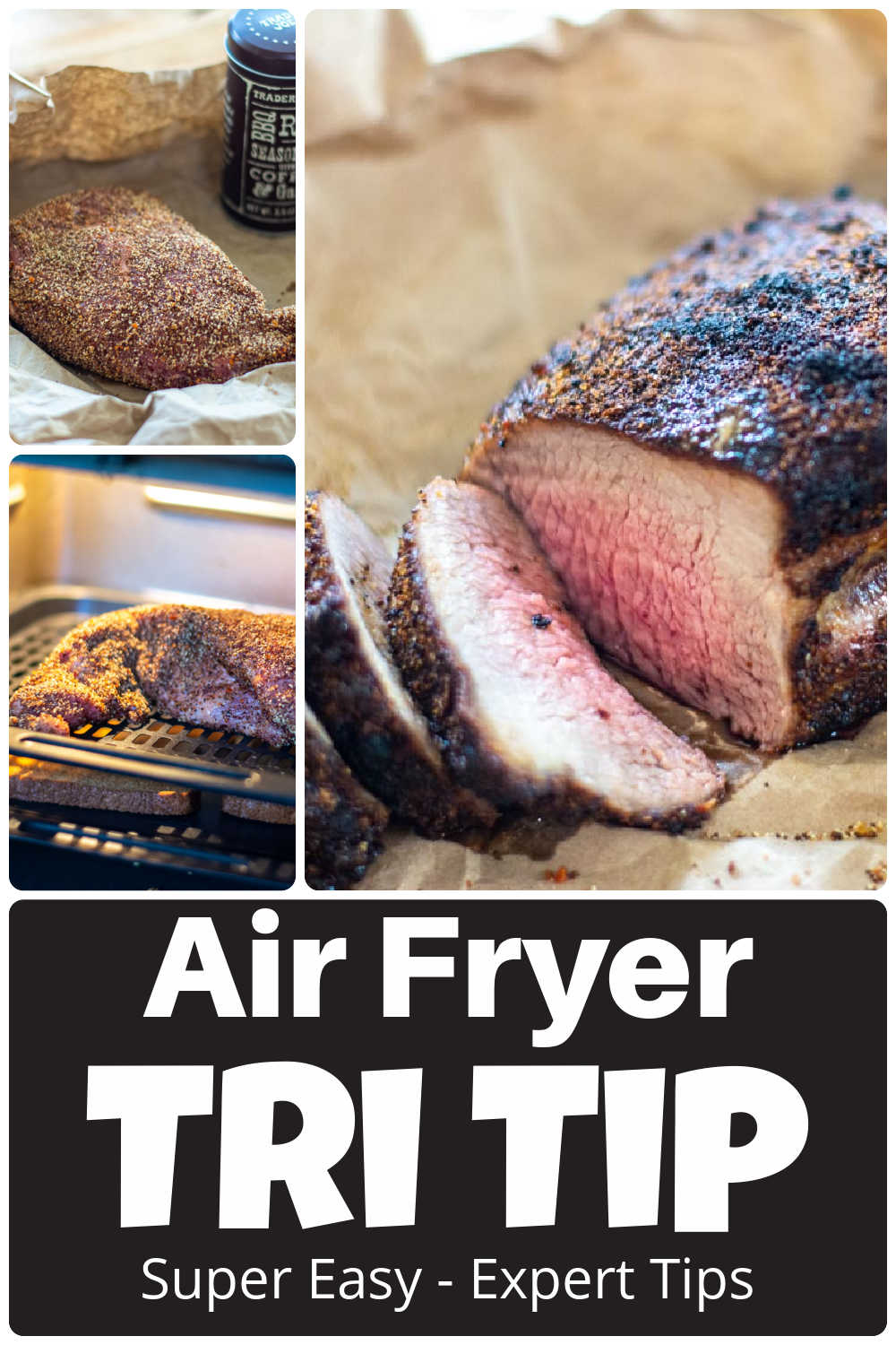 How to Cook Air Fryer Tri Tip Roast {30 Minutes}
