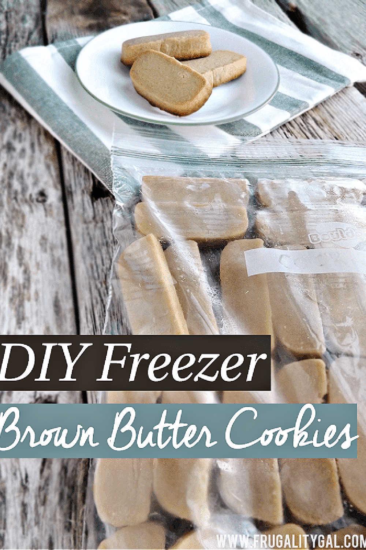 DIY Freezer Butter Cookies {10 Minute Prep}