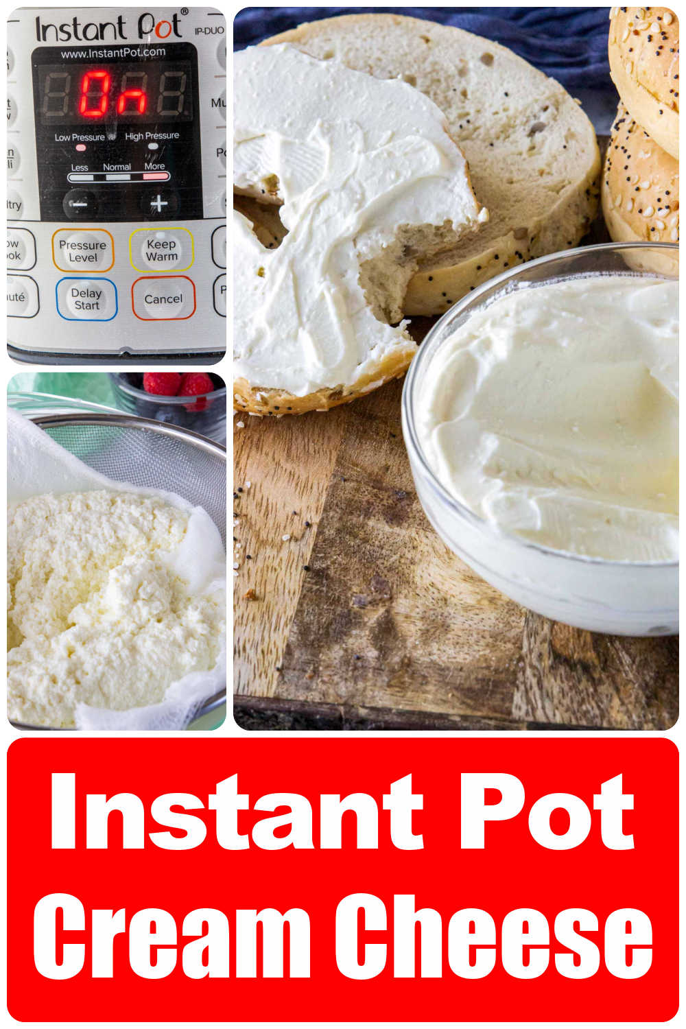 Instant Pot Cream Cheese {30 Minutes}