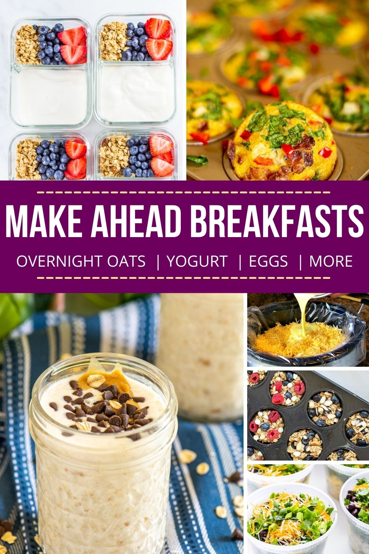 30+ Make-Ahead Breakfast Recipes