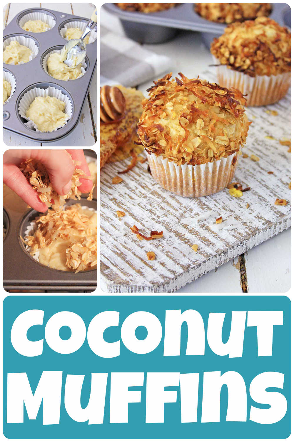 Coconut Muffins {30 Minutes}