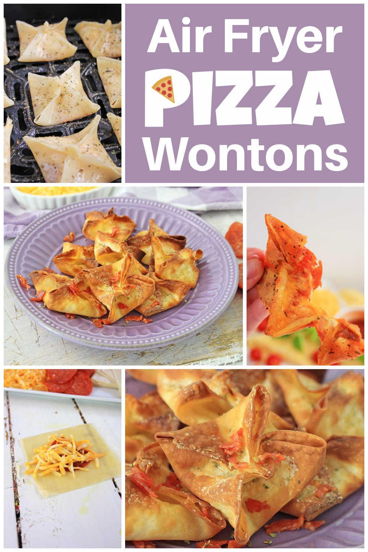 Air Fryer Pizza Wontons {20 Minutes}