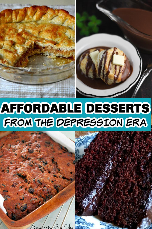 15 Depression Era Desserts