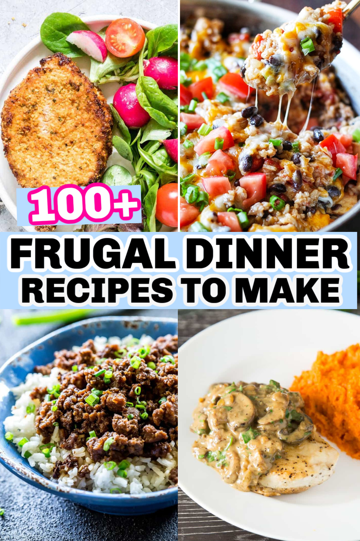 100 Frugal Dinner Recipes