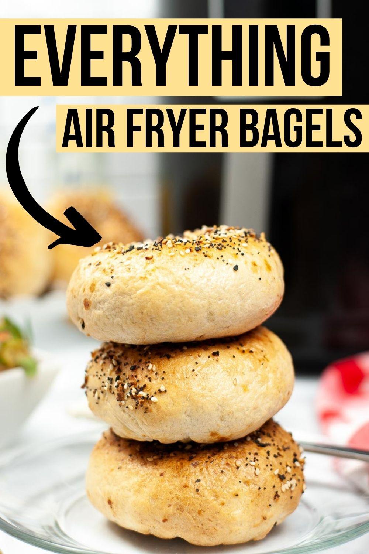 Air Fryer Everything Bagels