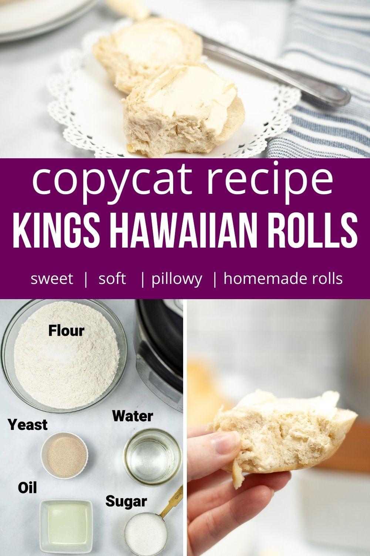 Instant Pot King\'s Hawaiian Rolls Recipe