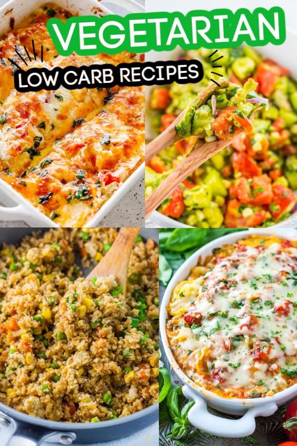 30 Low Carb Vegetarian Recipes
