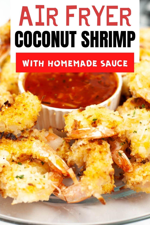 Air Fryer Coconut Shrimp {10 Minutes}