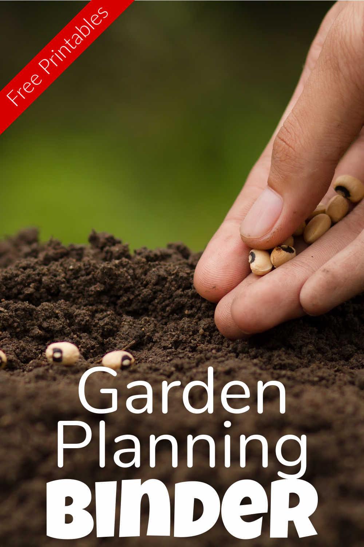 Garden Planner Binder {Free 11 Page Printable}