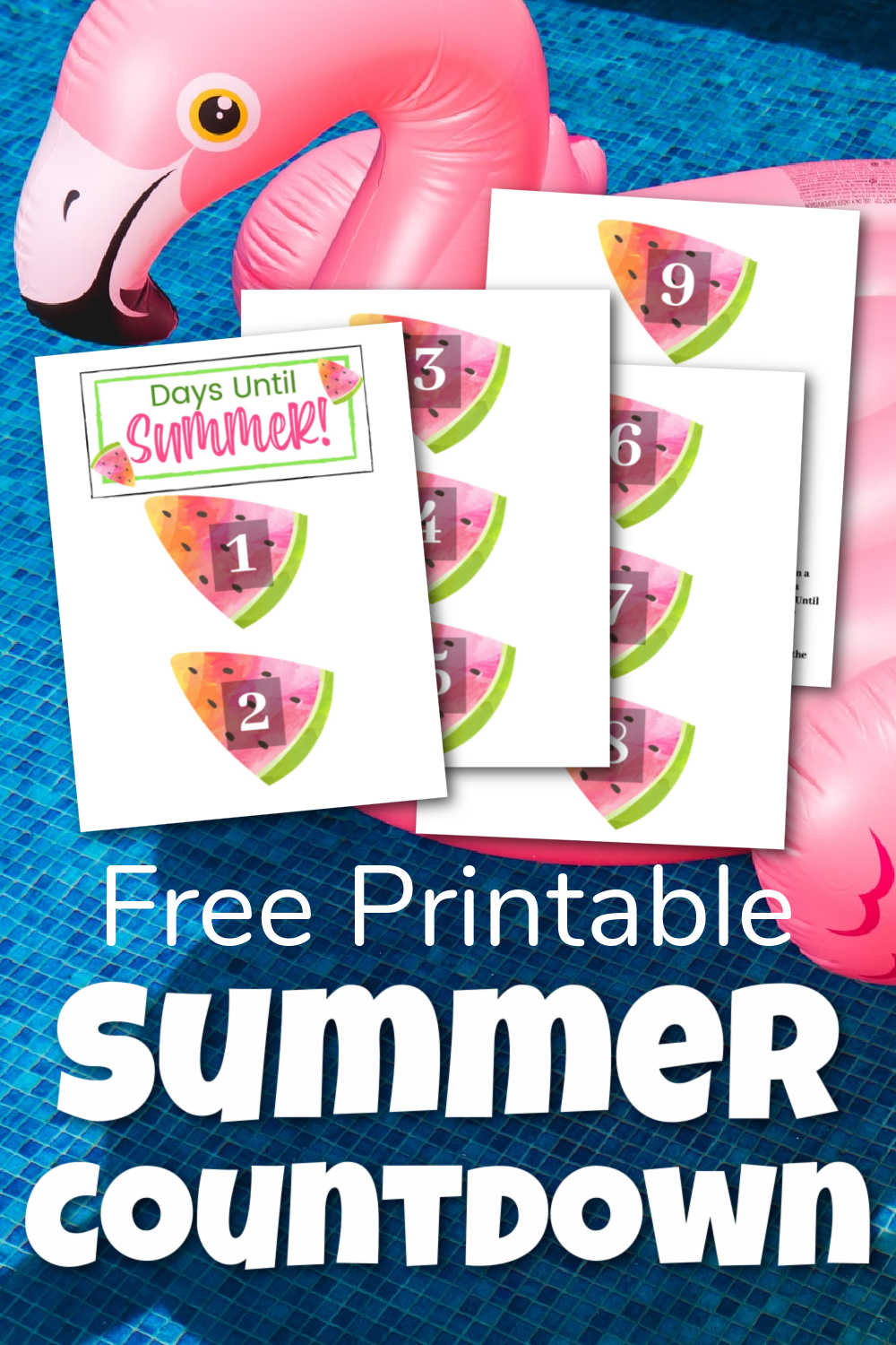 Countdown to Summer {Free Printable}
