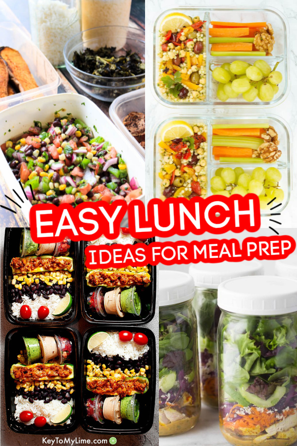 Best Lunches to Meal Prep | Learn Tips and Tricks to Save Money