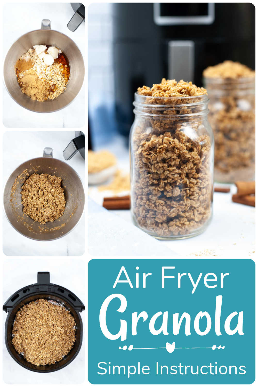 Air Fryer Granola {30 Minutes}